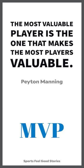 Peyton Manning on what the MVP means to him