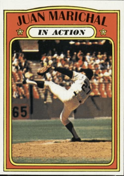Juan Marichal - Starting pitcher for the All-Star Baseball Card Team