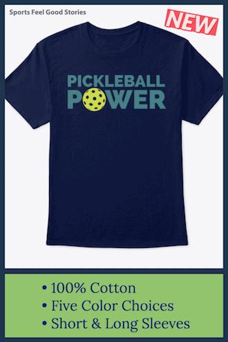 pickleball power tshirt