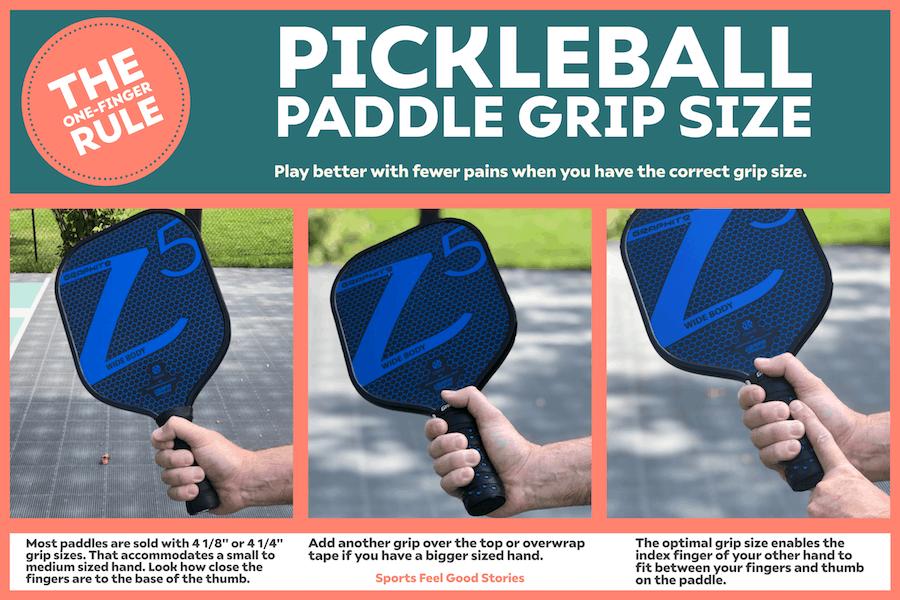 The One-Finger Rule for Pickleball Grips