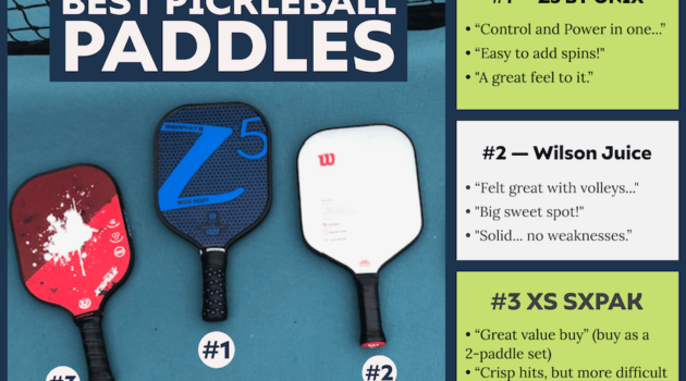 best pickleball paddles