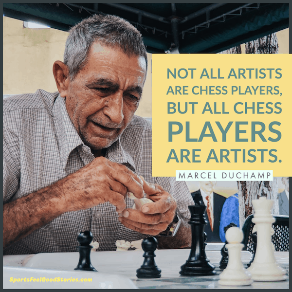 All chess players are artists