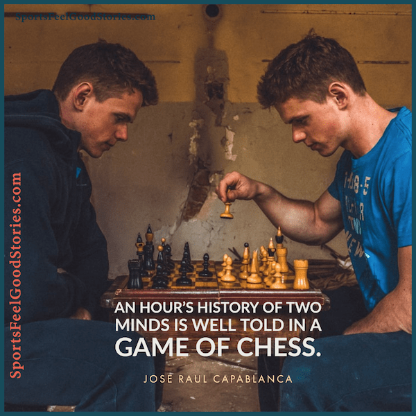 An Hour's History of Two Minds - chess quotes
