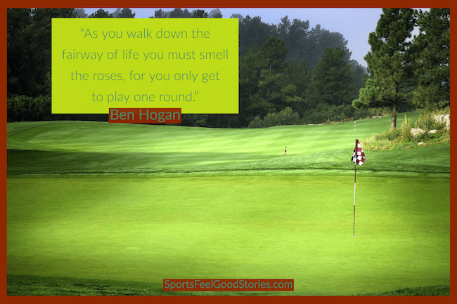 Ben Hogan - quotes on walking