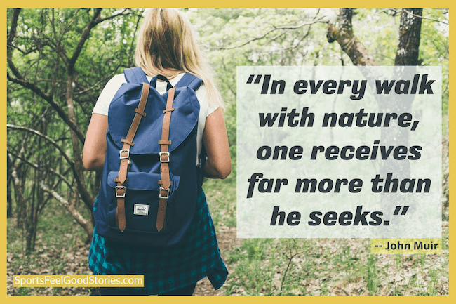 John Muir - walking quotes