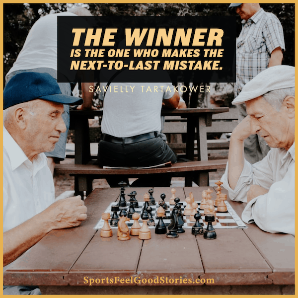 The next-to-last mistake - chess quotes