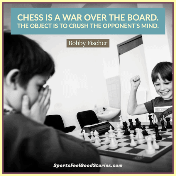 Chess is war over the board meme