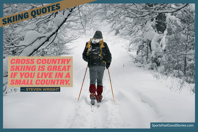 Cross-country skiing quotes