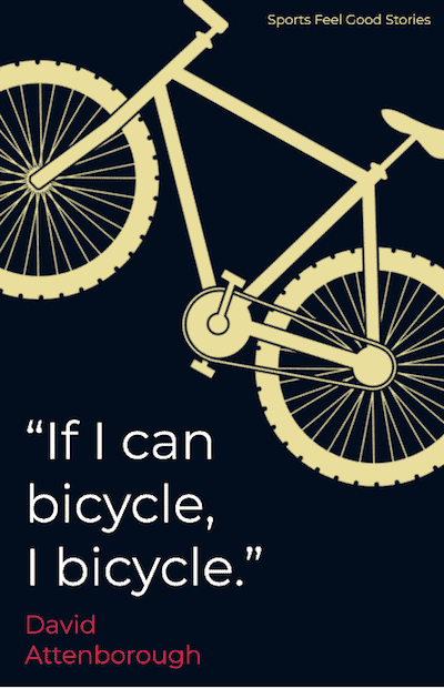If I can bicycle, I bicycle - good bicycle quotes