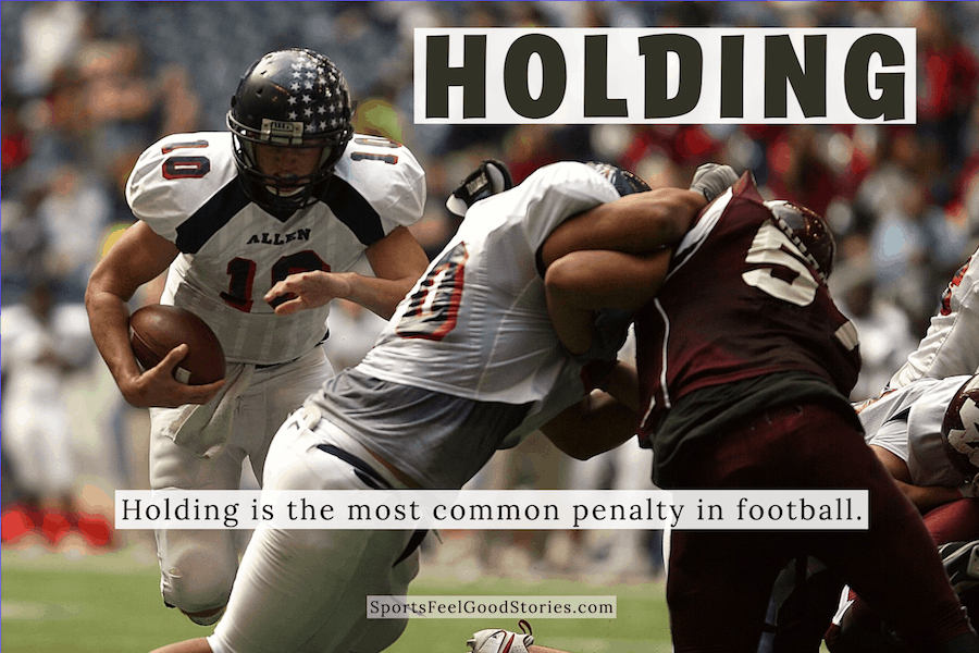 Holding penalty in football