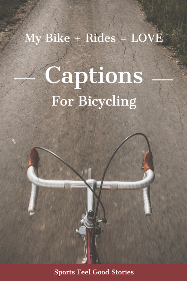 Bicycle captions for Instagram