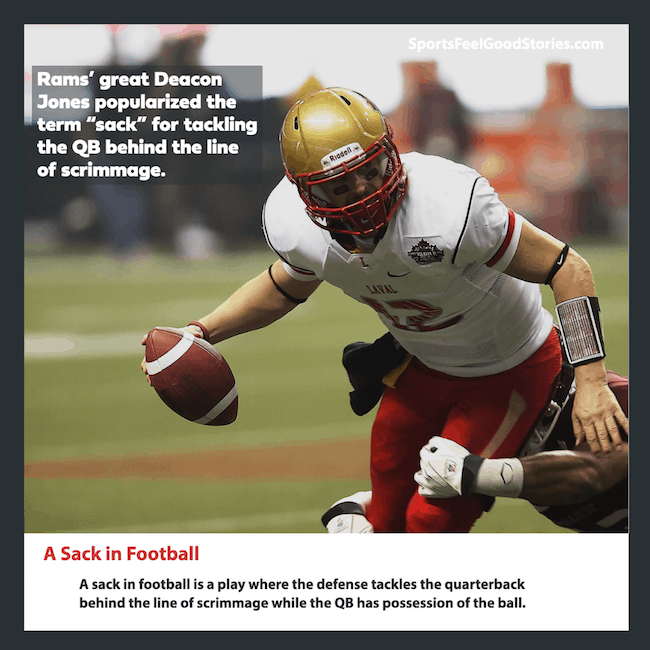 A sack in football definition