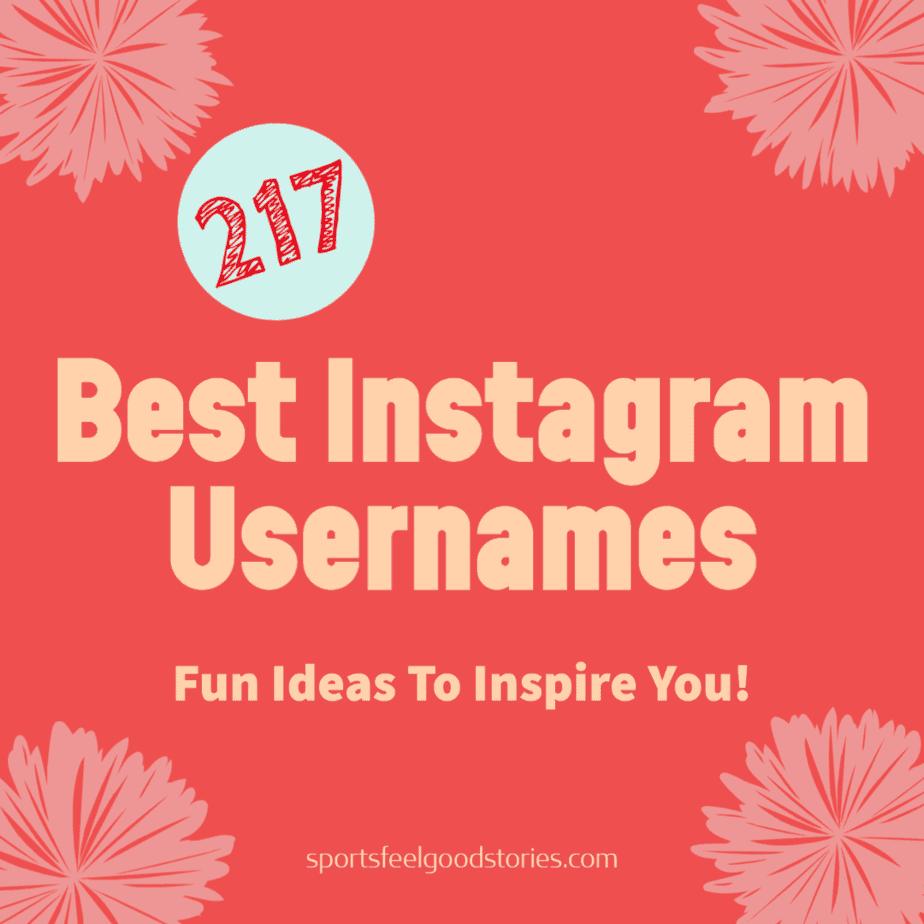 best instagram names