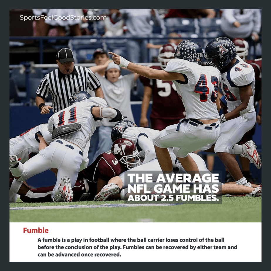 fumble definition in football