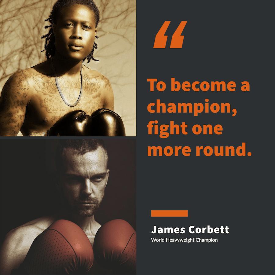 James Corbett on boxing