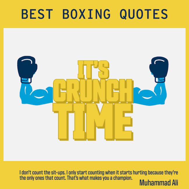 Muhammad Ali - best boxing quotes
