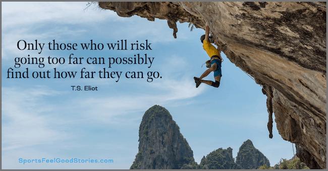 Inspirational climbing quotes