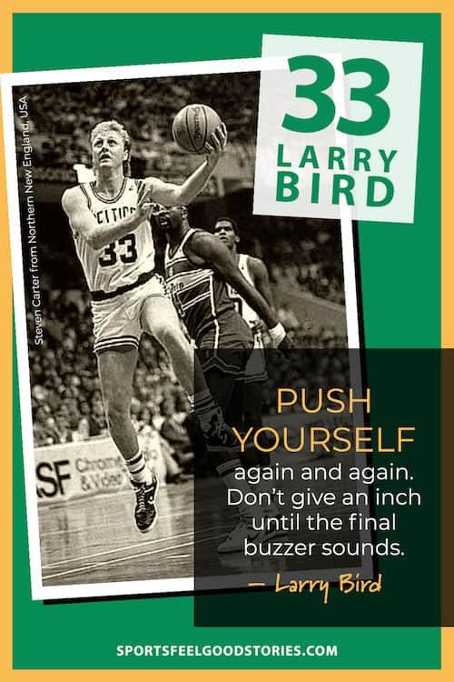 Larry Bird quote meme