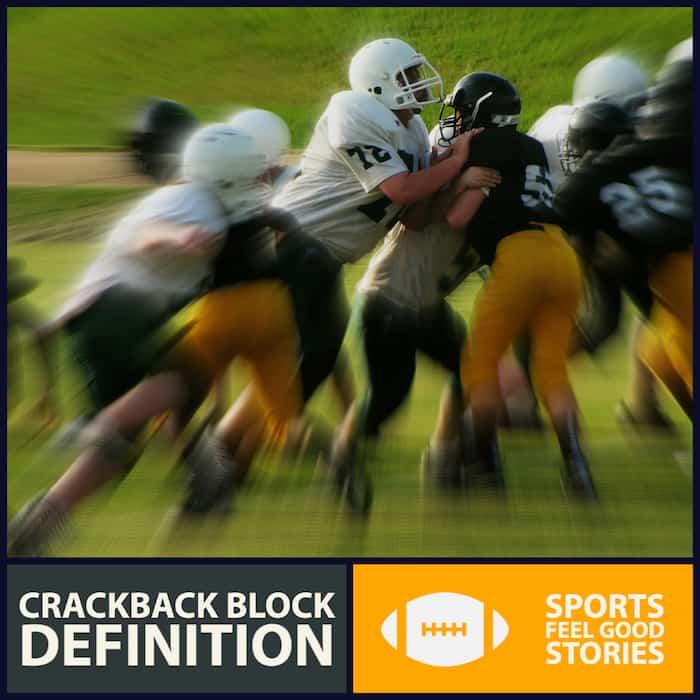 Crackback block definition