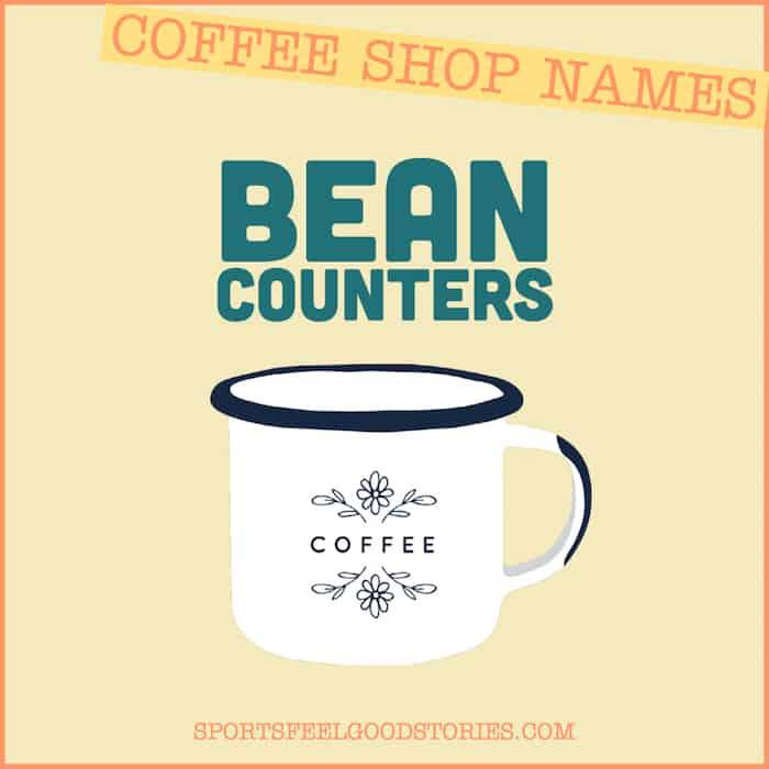 good coffee shop names