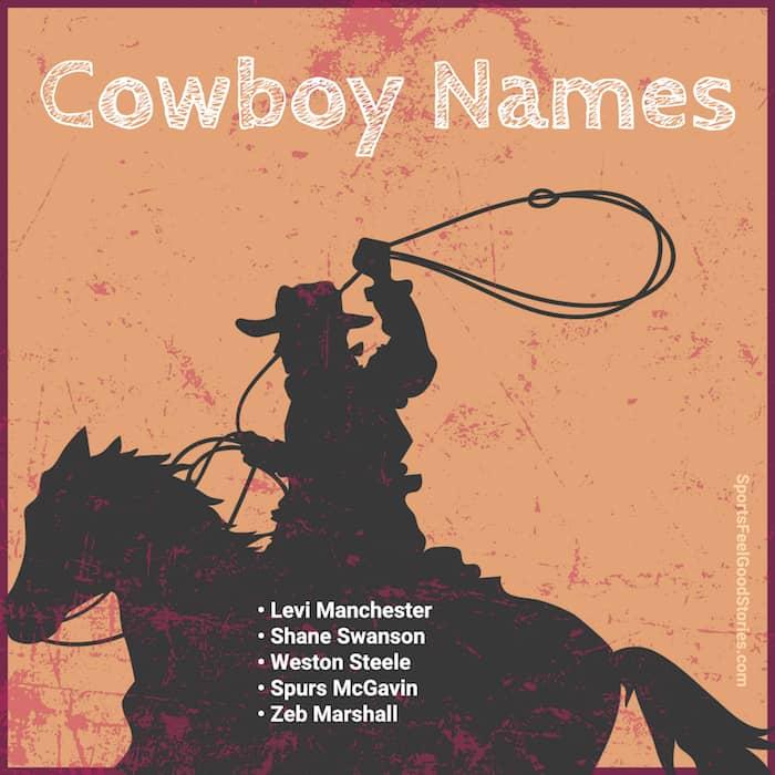 good cowboy names