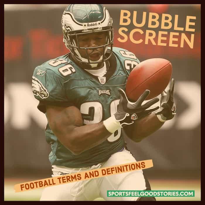 Bubble Screen in Football