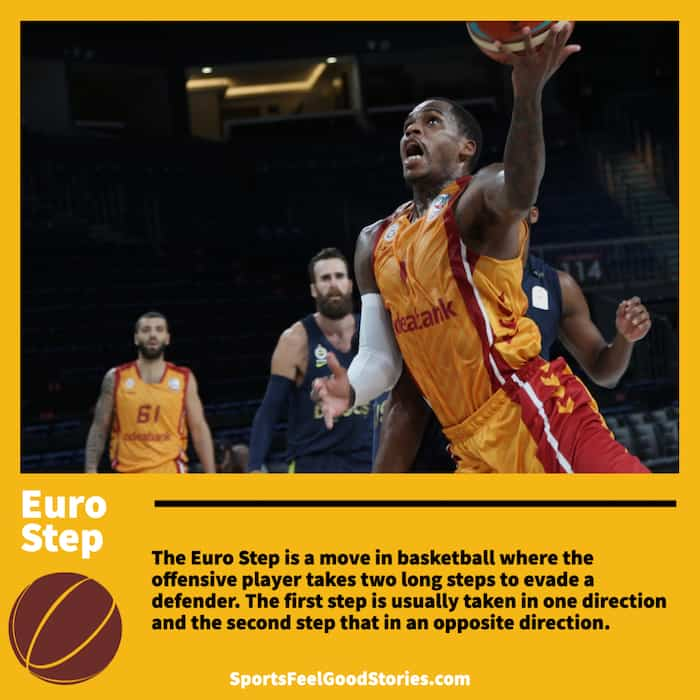 Euro Step in Basketball