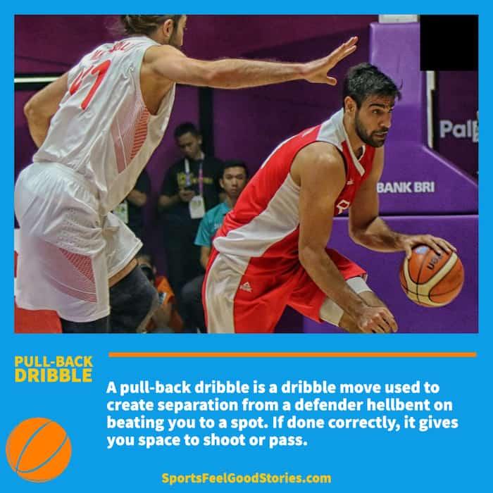 Pull-Back Dribble in Basketball
