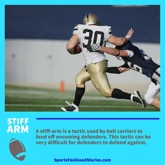 Stiff Arm in Football
