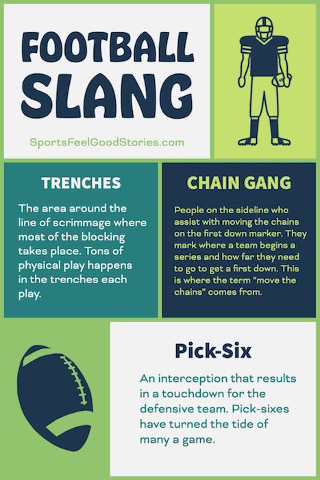 Trenches, chain gange and pick-six