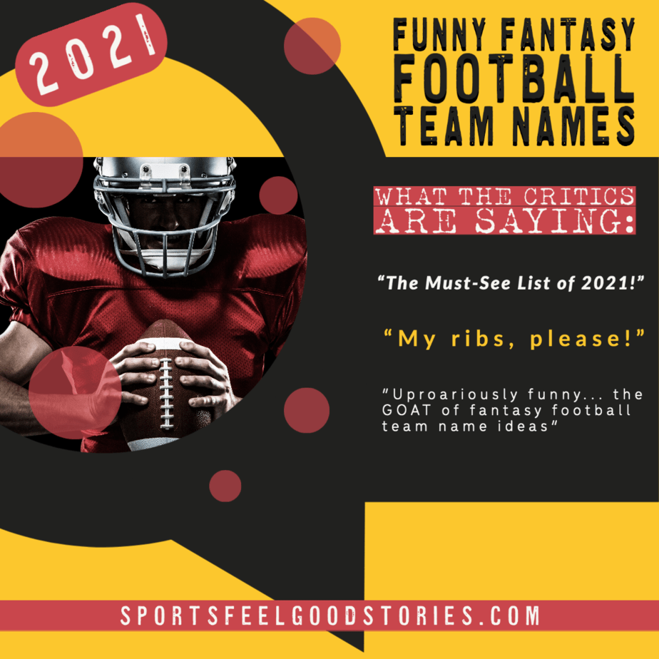 funny fantasy football team names 2021