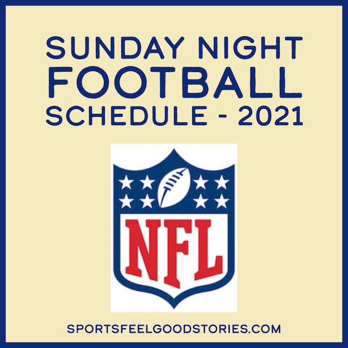 Sunday Night Football Schedule and Matchups