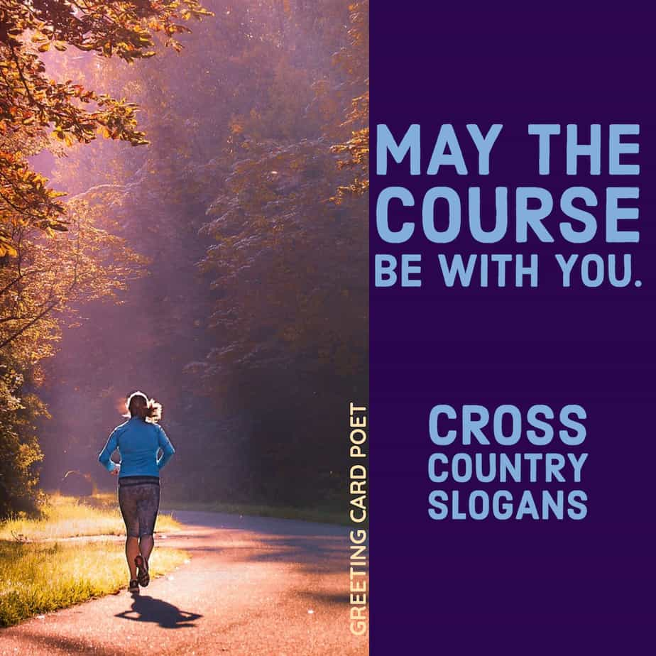 Good Cross Country Slogans
