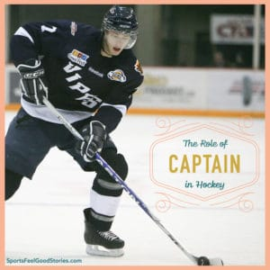 The role of captain in hockey