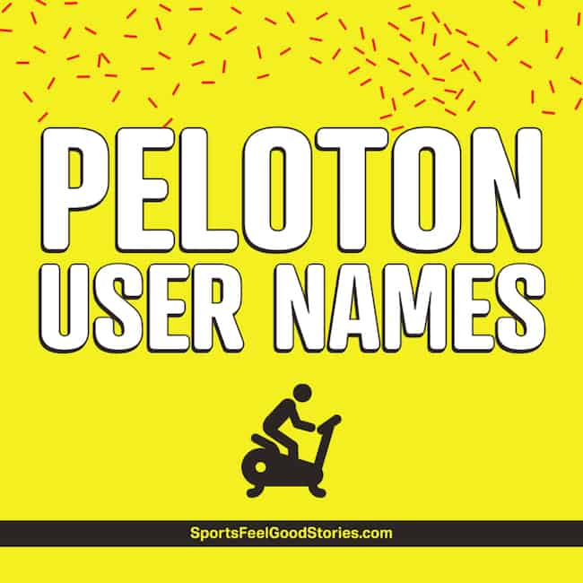 Good Peloton Usernames